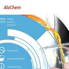 Schwerpunkt NCN-Chemie im Produktionsverbund. Internationales Chemieunternehmen. Positioniert sich erfolgreich in der Welt der Spezialchemie.