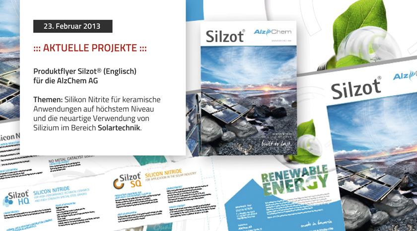 Produktflyer Silzot